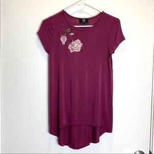 Sale🎈G by Giuliana Rose Embroidered T-shirt